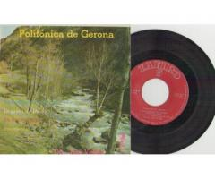 POLIFÓNICA DE GERONA *** SINGLE ANY 1963