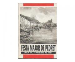 FESTA MAJOR DE PEDRET ANY 1991