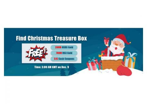 Try to Obtain Free Runescape 07 Gold & Others in RSorder Xmas Treasure Box