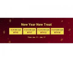 Acquire RSorder New Year Treat Up to $18 Coupons for RS 07 Gold Now